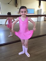 Infant, junior, pre primary and primary standard ballet uniform